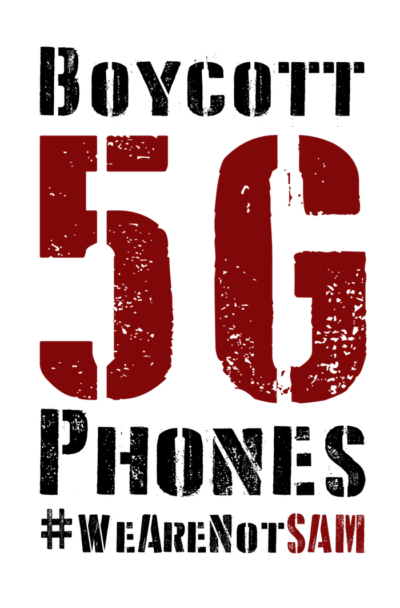 #Boycott 5G Phones#long copy